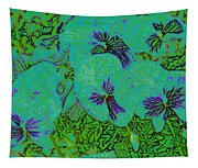 Remembrance Flowers Tapestry
