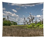 Remleys Point Bridge View Tapestry