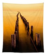 Remnants Tapestry by Chad Dutson