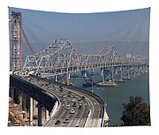 Replacement Of The Easter Span San Francisco Oakland Bay Bridge From Yerba Buena Island Oct 9th 2011 Tapestry