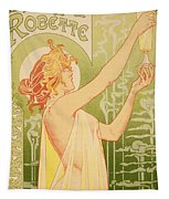 Reproduction Of A Poster Advertising 'robette Absinthe' Tapestry
