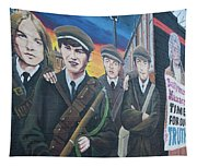 Republican Murals Against British Rule Tapestry