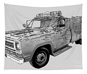 Rescue 51 Tapestry