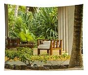 Resort Bungalow Near The Beach Tapestry