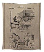 Respirator Patent Illustration 1911 Tapestry