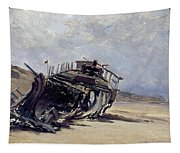 Rest Of A Shipwreck Tapestry