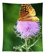 Resting On A Thistle Tapestry