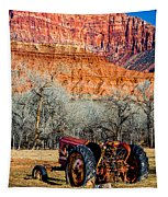 Retired With A View Tapestry