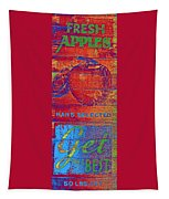 Retro Apples Tapestry