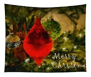 Retro Christmas Tapestry