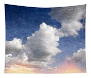 Retro Clouds 2 Tapestry