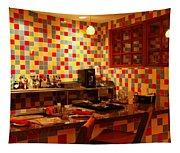 Retro Diner Tapestry