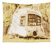 Retrod The Comic Caravan Tapestry