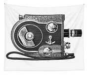 Revere 8 Movie Camera Tapestry