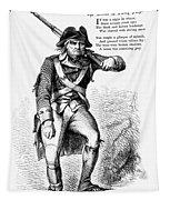 Revolutionary Soldier Tapestry