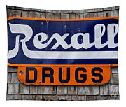 Rexall Drugs Tapestry