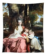 Reynolds' Lady Elizabeth Delme And Her Children Tapestry