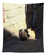 Rhodes Cat Trio Tapestry