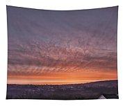 Rhymney Valley Sunrise Tapestry