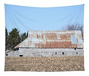 Ribbon Roof Barn Tapestry