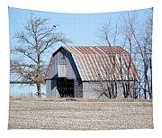 Ribbon Roof Crib Tapestry