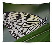 Rice Paper On Leaf Tapestry
