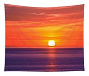 Rich Sunset Tapestry