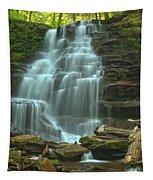 Ricketts Glen Cascading Falls Tapestry