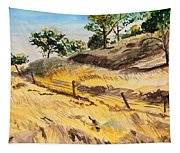 Riding By Back Road  Tapestry