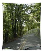 Riding The Woods Of Alabama Tapestry