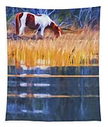 Rippled Reflection Tapestry