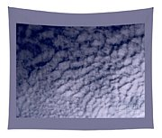 Ripples In The Dark Blue Sky Tapestry