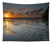 Ripples On The Beach Tapestry