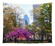 Rittenhouse Square In Springtime Tapestry