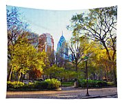 Rittenhouse Square In The Spring Tapestry