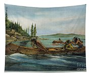 Rival Fur Traders  Tapestry