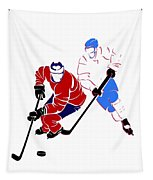 Rivalries Canadiens And Nordiques Tapestry