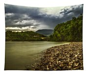 River Below The Clouds Tapestry