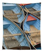 River Boats Tapestry