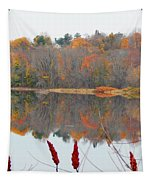 River Mirror Autumn Tapestry