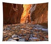 River Rocks In The Narrows Tapestry