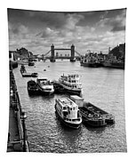 River Thames View Tapestry
