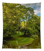 River Tranquility Tapestry