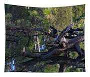 River Wood Tapestry