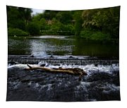 River Wye - In Peak District - England Tapestry