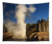 Riverside Geyser Eruption Tapestry