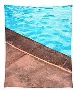 Riviera Pool Palm Springs Tapestry