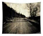 Road Of The Past Tapestry