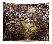 Road Of Trees Tapestry