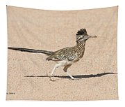 Road Runner On The Road Tapestry